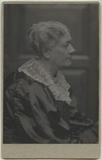 Jane Maria (née Grant), Lady Strachey, by Frederick Hollyer, 1890s - NPG x13045 - © National Portrait Gallery, London