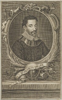 Sir Francis Drake, after Unknown artist - NPG D25405