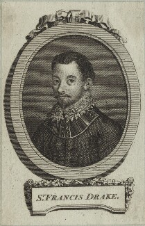 Sir Francis Drake, after Unknown artist, probably 18th century - NPG D25407 - © National Portrait Gallery, London