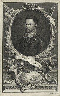 Sir Francis Drake, by Jacobus Houbraken, published by  John & Paul Knapton, circa 1746 - NPG D25410 - © National Portrait Gallery, London