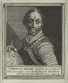 Sir Francis Drake, by William Marshall - NPG D25413