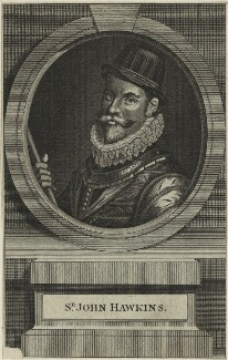 Sir John Hawkins, after Unknown artist - NPG D25417