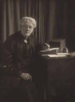 Jane Maria (née Grant), Lady Strachey, by Olive Edis - NPG x13051