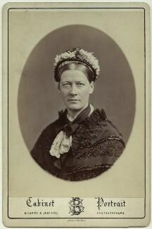 Jane Maria (née Grant), Lady Strachey, by Bourne & Shepherd, circa 1870 - NPG x24013 - © National Portrait Gallery, London