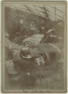 Marie Claire Souvestre; (Joan) Pernel Strachey; Jane Maria (née Grant), Lady Strachey, by Unknown photographer - NPG x13128