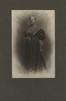 Jane Maria (née Grant), Lady Strachey, by Mayall & Co - NPG x13057