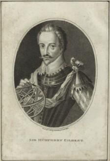 Sir Humphrey Gilbert, published by Edward Harding - NPG D25424
