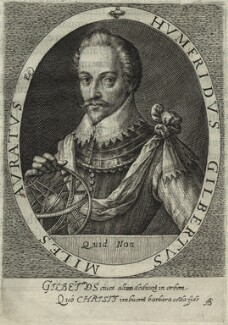 Sir Humphrey Gilbert, possibly by Magdalena de Passe, possibly by  Willem de Passe - NPG D25426
