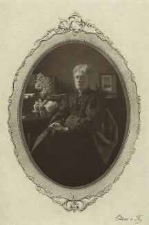 Jane Maria (née Grant), Lady Strachey, by Elliott & Fry, 1890s - NPG x13056 - © National Portrait Gallery, London