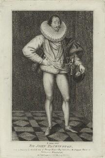 Sir John Pakington, by R. Clamp - NPG D25429