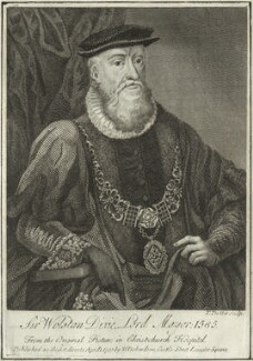 Sir Woolston Dixie, by Thomas Trotter, published by  William Richardson - NPG D25445
