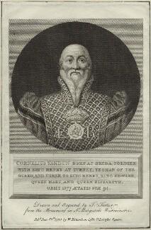 Cornelius van Dun, by Thomas Trotter, published by  Robert Wilkinson - NPG D25451