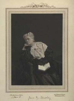 Jane Maria (née Grant), Lady Strachey, by The Canadian Studio - NPG x13060