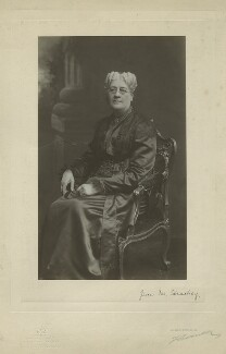 Jane Maria (née Grant), Lady Strachey, by John Thomson & John Newlands (Messrs Thomson), 1890s - NPG x13061 - © National Portrait Gallery, London