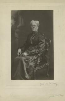 Jane Maria (née Grant), Lady Strachey, by John Thomson & John Newlands (Messrs Thomson), 1890s - NPG x13061 - © National Portrait Gallery, London