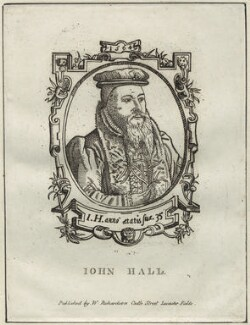 John Hall, published by William Richardson - NPG D25470