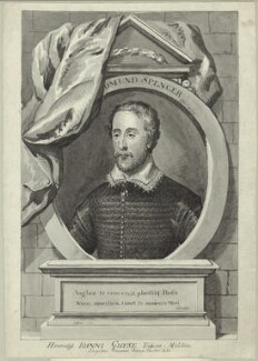 Edmund Spenser, after George Vertue - NPG D25477