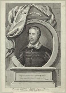 Edmund Spenser, after George Vertue - NPG D25477