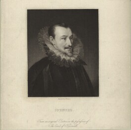 Edmund Spenser, by James Thomson (Thompson), early 19th century - NPG D25478 - © National Portrait Gallery, London