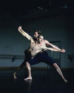 The Ballet Boyz (William Trevitt; Michael Nunn), by Paul Stuart, 1 September 2003 - NPG x131023 - © Paul Stuart