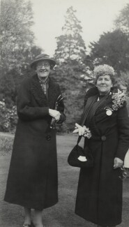 (Joan) Pernel Strachey; Marjorie Strachey, by Unknown photographer, 18 may 1939 - NPG x38569 - © National Portrait Gallery, London