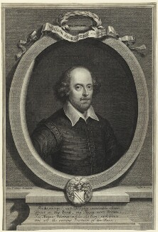 William Shakespeare, by George Vertue - NPG D25489