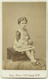 (Joan) Pernel Strachey, by Thomas Fall, 1879 - NPG x13152 - © National Portrait Gallery, London