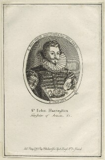 Sir John Harington, published by William Richardson - NPG D25495