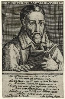 George Buchanan, by Elias van den Bosche - NPG D25506