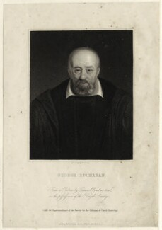 George Buchanan, by Edward Scriven - NPG D25508