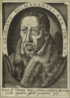George Buchanan, by Robert Boissard - NPG D25517