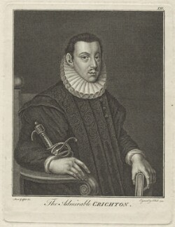 James Crichton, by John Hall, after  Moses Griffith - NPG D25524