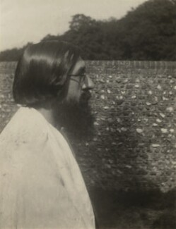 Lytton Strachey, probably by Vanessa Bell - NPG x21196