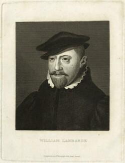 William Lambarde, published by William Richardson - NPG D25534