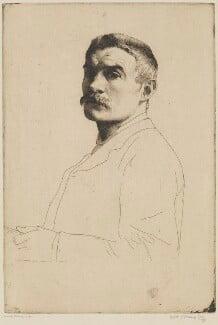 William Strang, by William Strang, printed by  David Strang, 1890 - NPG D31917 - © National Portrait Gallery, London
