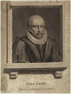 John Stow, after Unknown artist - NPG D25538