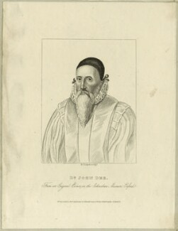 John Dee, by Robert Cooper - NPG D25549