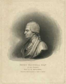 Henry Blundell, by Edward Scriven, after  George Bullock - NPG D31923