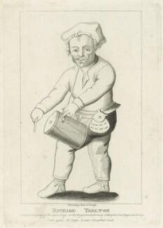 Richard Tarlton, by Silvester (Sylvester) Harding, published by  Edward Harding - NPG D25555
