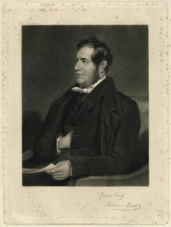 Thomas Boaz, by John Richardson Jackson, published by  John Snow, after  Henry Room - NPG D31924