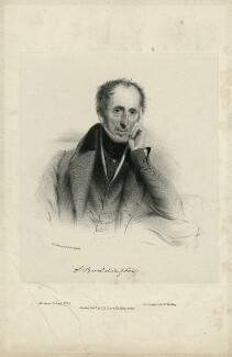 Samuel Boddington, by William Drummond, printed by  Day & Haghe, published by  Thomas McLean - NPG D31925