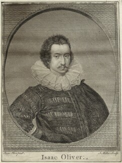 Isaac Oliver, by John Sebastian Miller (formerly Johann Sebastian Müller), after  Isaac Oliver - NPG D25561