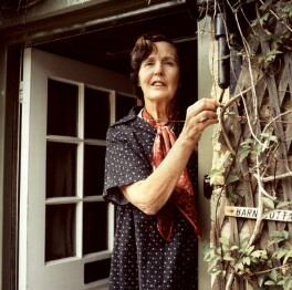 Barbara Pym, by Mark Gerson - NPG x88238