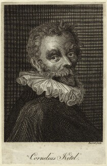 Cornelis Ketel, by G. Barrett - NPG D25563