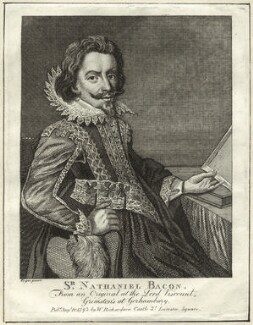 Sir Nathaniel Bacon, published by William Richardson, after  Sir Nathaniel Bacon - NPG D25567