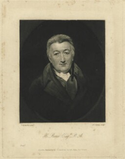 Henry Bone, by Frederick Christian Lewis Sr, published by  George Lawford, after  George Henry Harlow - NPG D31938