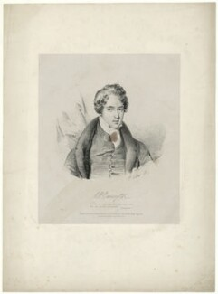 Richard Parkes Bonington, by Alexandre-Marie Colin, printed by  Engelmann, Graf, Coindet & Co, published by  Joseph Dickinson - NPG D31944