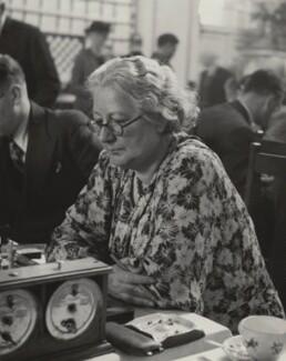Marjorie Strachey, by Sunbeam Photo Ltd, late 1930s - NPG x38565 - © National Portrait Gallery, London