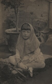 Marjorie Strachey, by Unknown photographer, circa 1892 - NPG x38563 - © National Portrait Gallery, London