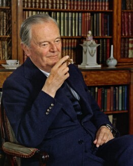 Kenneth Clark, Baron Clark, by Bern Schwartz - NPG P1153